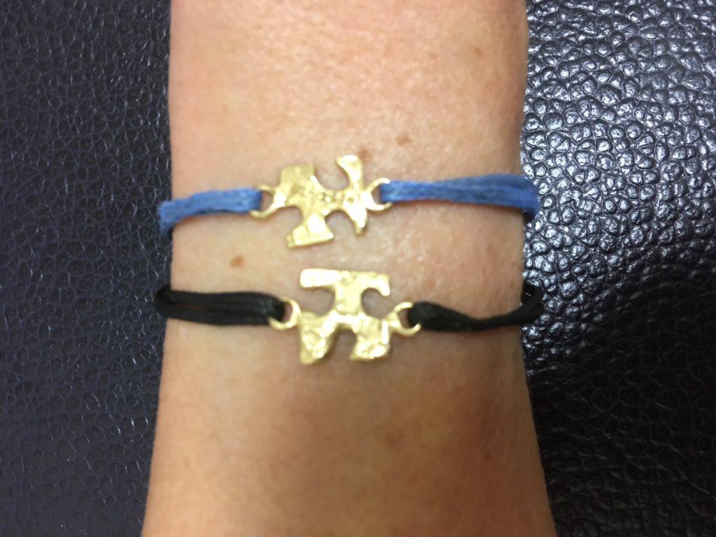 I braccialetti puzzle di bronzo Patrizia Corvaglia